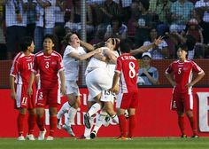 North Korean women's soccer team blames lightning for loss to US? Best. Excuse. Ever.