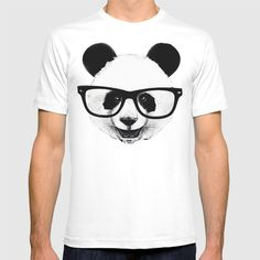 Panda Head Too T-shirt by Isaiah K. Stephens. Worldwide shipping available at Society6.com. Just one of millions of high quality products available.