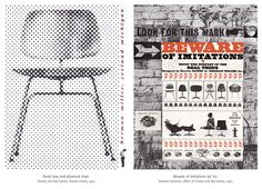 """Yellowtrace Promotion // Herman Miller """"Then x Ten"""" Exhibition & Design Competition. Graphic Design Posters, Graphic Design Inspiration, Plywood Chair, Billboard Signs, Great Place To Work, Charles & Ray Eames, Small Boy, Design Competitions, Exhibition Poster"""