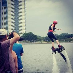 Let's fly at Putrajaya this weekend! We're running a flyboard experience this Saturday where you get 10 minutes of briefing and 30 minutes of being a superhero. Link in bio. Come #meetloka on #LokaLocal . . . . . . #flyboard #putrajaya #igputrajaya #malaysia #igmalaysia #travelgram #watersport #flyboardmalaysia