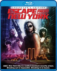 Image result for escape from new york blu ray