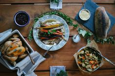+ meadow roast chicken with meyer lemon + garden herbs maple roasted ...