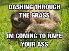 So romantic~ | Rape Sloth | Know Your Meme