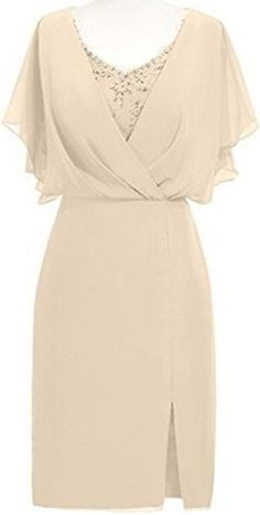 Are you searching for a cute mother of the bride dress? You should take a look at this Short Chiffon Lace Mother of The Bride Dress with Flutter Sleeves. Mother Of Groom Dresses, Bride Groom Dress, Mothers Dresses, Mother Of The Bride, Bride Dresses, Mom Dress, Dress Skirt, Lace Dress, Dresses Short