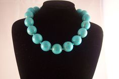 Necklace - Turquoise Howlite 18.75 Wilma, Free Shipping. $79.95, via Etsy.