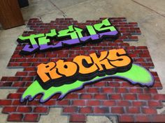 Handmade sign for our children's church hallway. It is made out of styrofoam sheets!