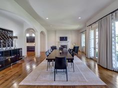 Love the size of the room! Perfect for entertaining! 3417 Villanova Street University Park 75225, Briggs Freeman Sotheby's luxury home for sale in Dallas Fort Worth