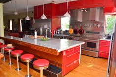 Pretzel Factory eclectic kitchen