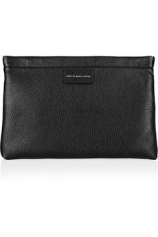 Marc by Marc Jacobs Pochette en cuir texturé Can't Clutch This | NET-A-PORTER