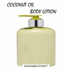 coconut oil body lotion