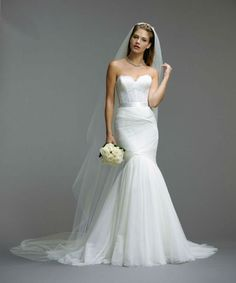 The corset top is gorgeous. Watters Wedding Dresses Spring 2014 | Dress for the Wedding