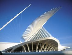 milwaukee art museum.  calatrava