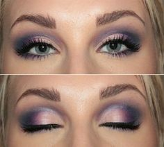 Pink & Purple Smokey Eye