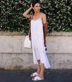 negin mirsalehi look vestido branco midi birken