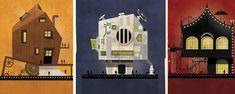 A lire sur AlloCiné : Un graphiste italien a eut l'idée de créer des maisons (fictives) d'architectes de grands réalisateurs, en fonction de leurs styles, de leurs films et de leurs thèmes. Le résultat, plutôt élégant, est surprenant.