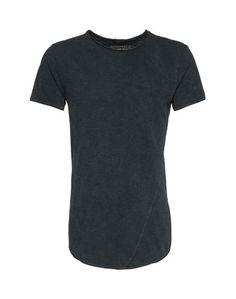 JACK & JONES T-Shirt mit Rundhalsausschnitt schwarz