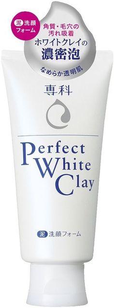 Shiseido SENKA Perfect White Clay 120g Cleansing Foam Face Wash from Japan F/S #Shiseido