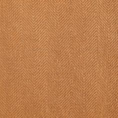 ANICHINI Fabrics   Nobel Linen Herringbone Curry Residential Fabric - an orange herringbone linen fabric