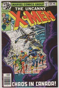 Uncanny XMen V1 120.  VF/NM. April 1979 by RubbersuitStudios #comicbooks #xmen
