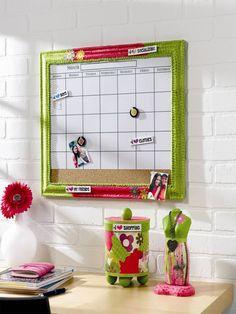 Decoupage - Dorm Calendar