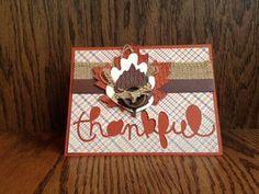 August 11, 2013  stampingcountry: Stampin' Up! Autumn Card Ideas Guest Designer Karen Gilman