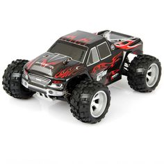 A979 2.4GHz 1/18 4WD Electric RC Car Monster Truck RTR