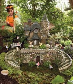 Chasing Fireflies catalog sells this fairy garden kit!  Amazing!