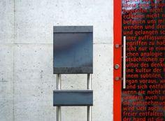 Keilbach - Zeitungsbox Glasnost iron
