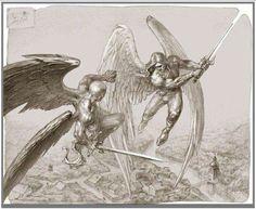 ангелы и демоны битва - Поиск в Google