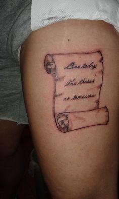 papyrus tattoo