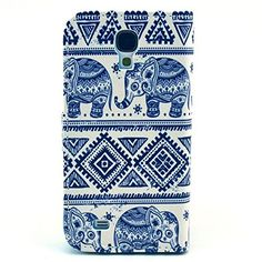 Buy Galaxy S4 Case, M-Zebra Printed Series Light Color Design PU Leather Stand Wallet Type Magnet Design Flip Case Cover For Samsung Galaxy S4 i9500, with Screen Protectors+Stylus+Cleaning Cloth (Baby Elephant 1) NEW for 4.99 USD | Reusell