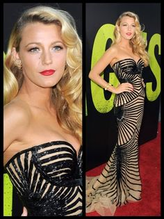 Blake Lively Smolders in a Zuhair Murad Strapless Gown the Savages LA Premiere Blake Lively Savages, Blake Lively Gossip Girl, Zuhair Murad Dresses, Gossip Girl Fashion, Strapless Gown, Stunning Dresses, Gorgeous Dress, Celebs, Celebrities