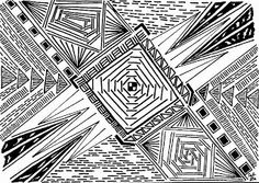 Lieschens-Bilder: Zentangle 261     Weekly Challenge #219