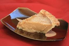 Tarte au Sucre - my friends made this for a pot-luck, and oh-my-frickin-goodness it was amazing.