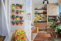 Como decorar varandas e sacadas pequenas