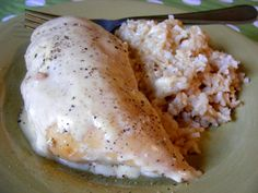 Fast, inexpensive, tasty, and comforting, our traditional cream cheese chicken breast recipe can be made in a slow cooker and as a freezer meal. Slow Cooker Recipes, Crockpot Recipes, Chicken Recipes, Cooking Recipes, Chicken Freezer, Sauce Recipes, Freezer Cooking, Crock Pot Cooking, Freezer Meals
