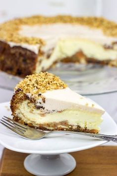 Carrot Cake Cheesecake - Spiced