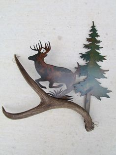 High Country Designs offering custom antler art and custom knives located in central Texas including Brownwood Texas, Zephyr Texas. Metal Sculpture Artists, Steel Sculpture, Driftwood Sculpture, Scrap Metal Art, Metal Wall Art, Miller Welding Helmet, Types Of Welding, Welding Art Projects, Welding Crafts