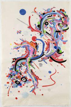 Abstract Dragon, 2009  by Nina Bovasso