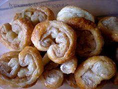 Cinnamon rolls made with puff pastry - Ventagli di pasta sfoglia alla cannella