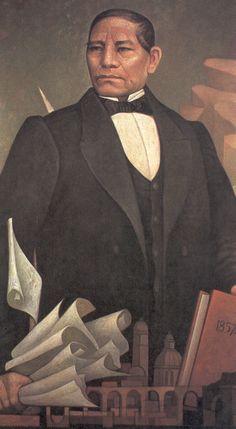 Benito Juárez por Jorge González Camarena