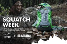 MHM backpack & year supply of Dr. Squatch Soap Giveaway {US}... sweepstakes IFTTT reddit giveaways freebies contests
