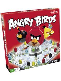 Angry Birds Kimble Kimble on lautapelien ehdoton klassikko! Liikuta lintujasi rataa pitkin kohti maaliruutujasi mutta varo, sillä törmäyksiäkin saattaa tulla. Perhepeli, 2–4 pelaajalle.