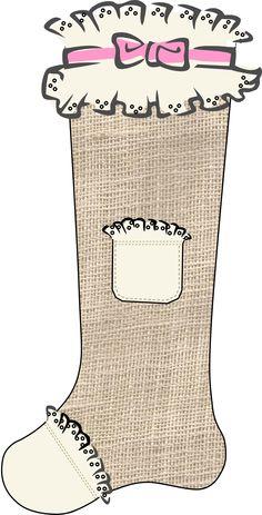 Stockings in progress