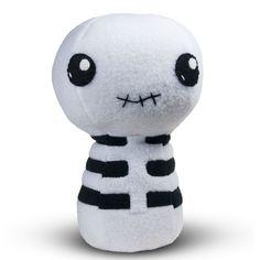 CraftyAlien® - Skeleton Plush Toy Collectible, $29.99 #halloween