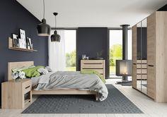 DESJO 30 LUSTRO w małej sypialni powiększa pomieszczenie