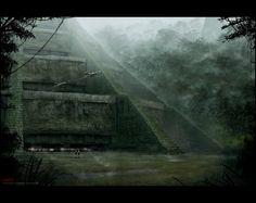 Mark Molnar - Sketchblog of Concept Art and Illustration Works: Star Wars - Temple of Yavin 4