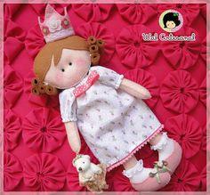 Wal Artesanal o site do feltro: bonecas