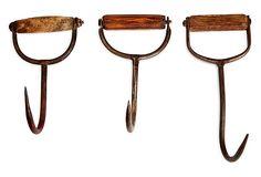 Hay-Bale Hooks, Set of 3 on OneKingsLane.com