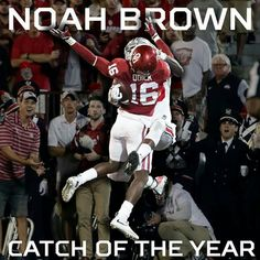 Catch of The Year... ✔✔⭐⭐ #NoahBrown #4TDs #GoBuckeyes